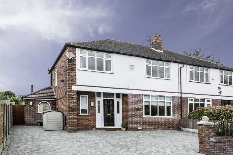 4 Bedrooms Semi Detached House for sale in Maple Grove, Worsley