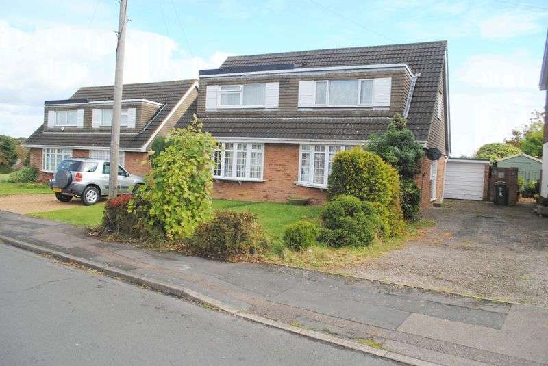2 Bedrooms Semi Detached House for sale in Dingle Road, Rushden