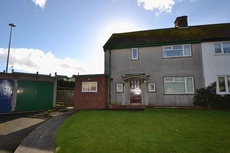 3 Bedrooms Semi Detached House for sale in Seafield Road, Seahouses