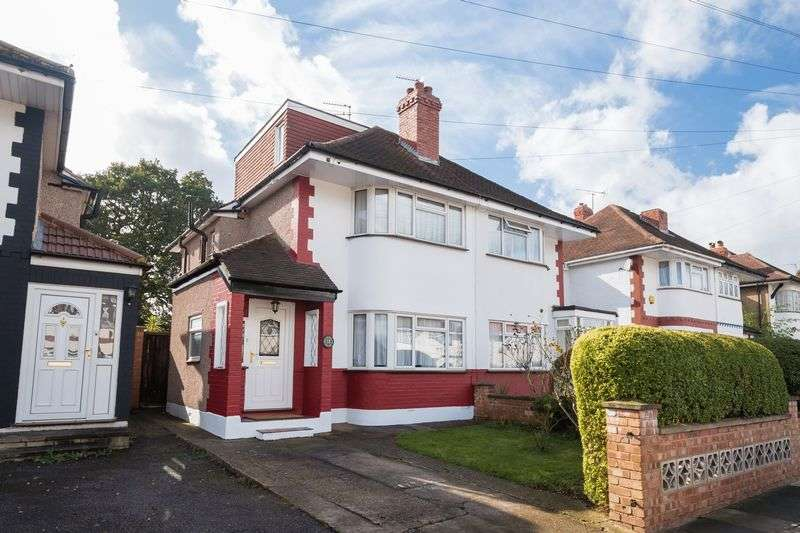 4 Bedrooms Semi Detached House for sale in Newnham Gardens, Northolt, Middlesex
