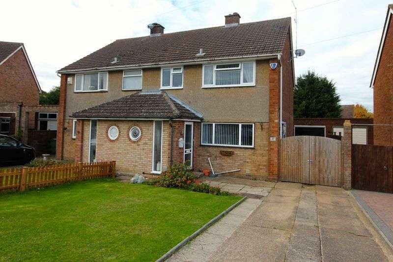 3 Bedrooms Semi Detached House for sale in Five Oaks, Caddington.