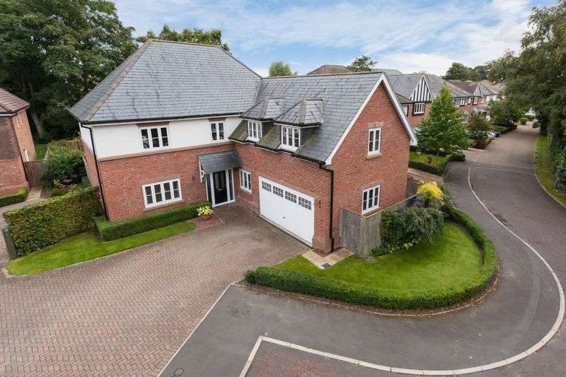 5 Bedrooms Detached House for sale in Gerards Gardens, Willaston, Nantwich