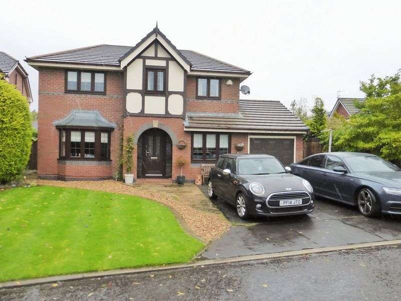 4 Bedrooms Detached House for sale in Lilford Close, Preston