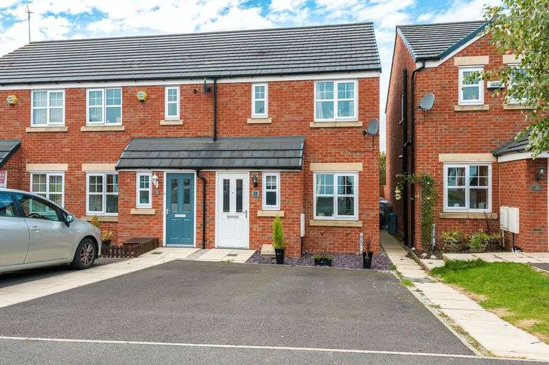 2 Bedrooms Semi Detached House for sale in Beacon Green, Skelmersdale