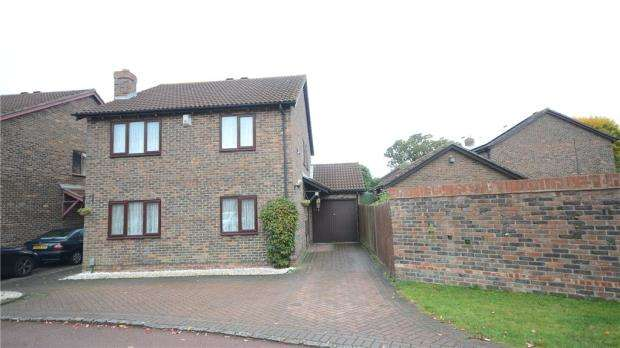 4 Bedrooms Detached House for sale in Kelton Close, Lower Earley, Reading