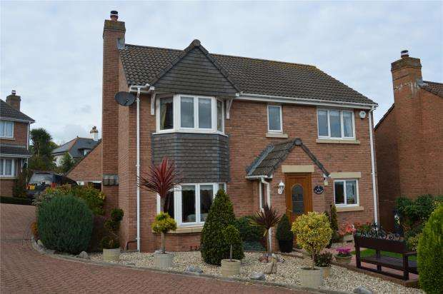 4 Bedrooms Detached House for sale in Pine Close, Teignmouth, Devon