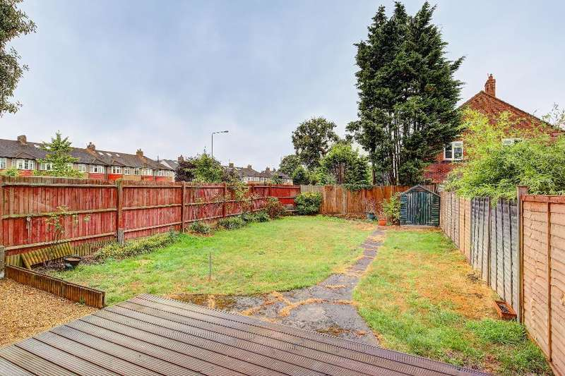 2 Bedrooms End Of Terrace House for sale in Bronson Road, Raynes Park, SW20 8DZ