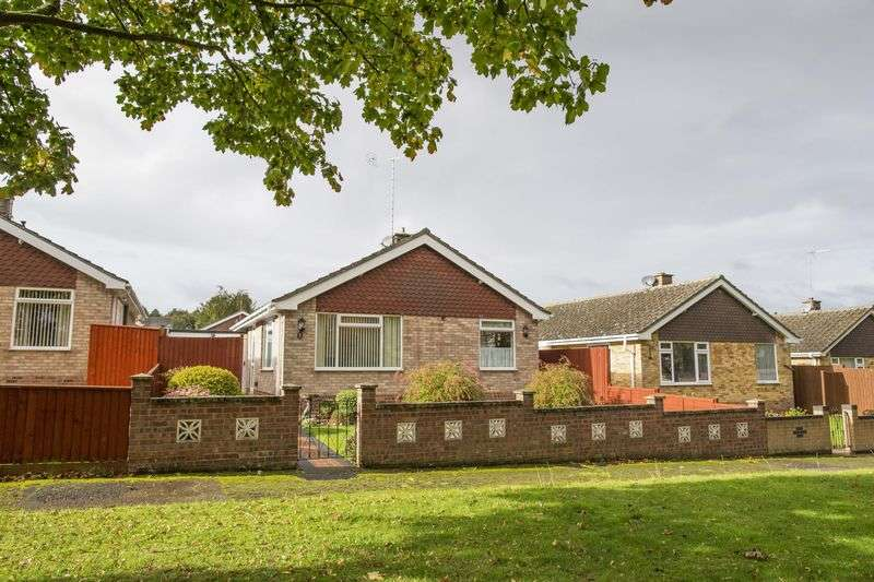 2 Bedrooms Detached Bungalow for sale in Manderville Road, Bury St. Edmunds
