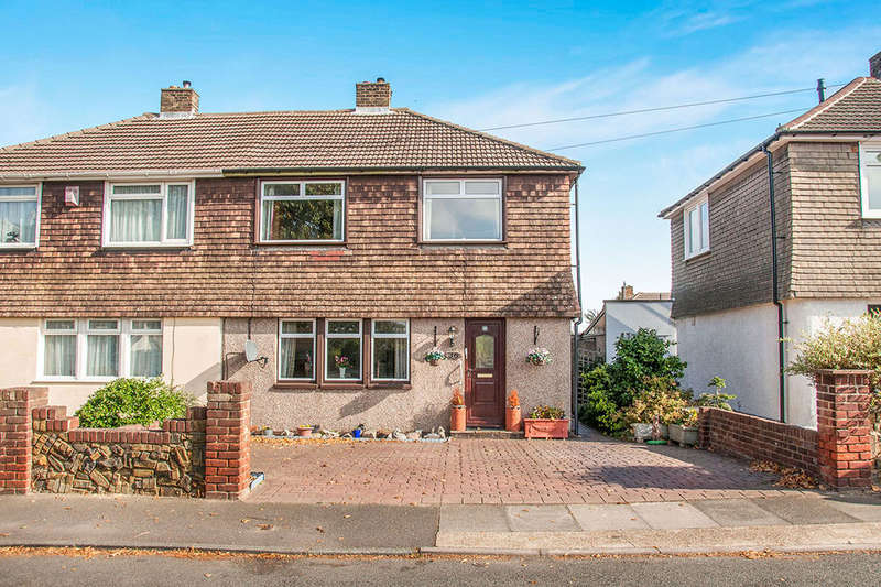 3 Bedrooms Semi Detached House for sale in Mounts Road, Greenhithe, DA9