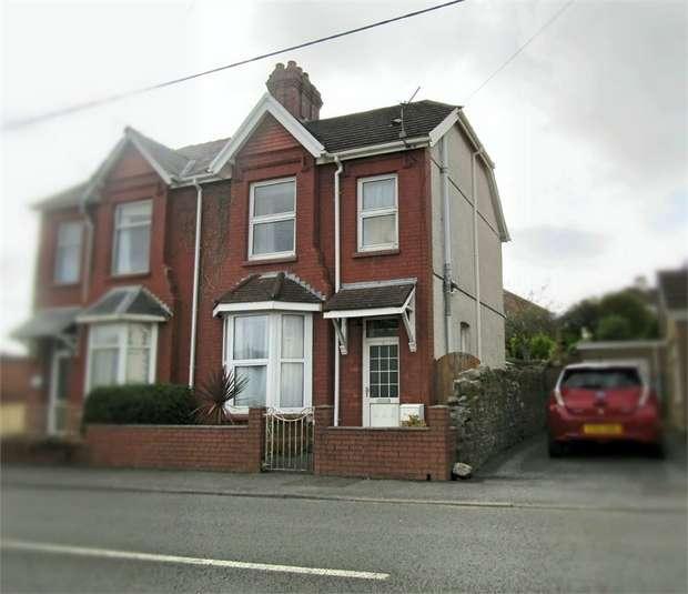 2 Bedrooms Semi Detached House for sale in Parkum Villas, Five Roads, Llanelli, Carmarthenshire