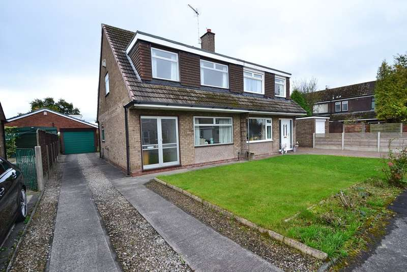 3 Bedrooms Semi Detached House for sale in Bolton Avenue, Cheadle Hulme SK8 7QS