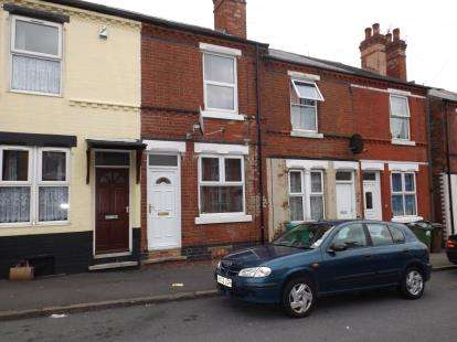 2 Bedrooms Terraced House for sale in Windermere Road, Nottingham, Nottinghamshire