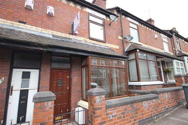 2 Bedrooms Terraced House for sale in Louise Street, Burslem, Stoke-on-Trent