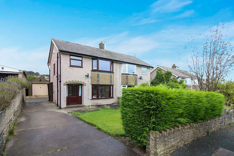 3 Bedrooms Semi Detached House for sale in Hill Clough Grove, Laycock, Keighley, BD22