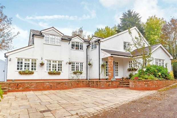 4 Bedrooms Detached House for sale in Dooleys Lane, Wilmslow, Cheshire