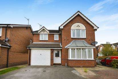 4 Bedrooms Detached House for sale in Sheldon Close, Sutton In Ashfield, Nottingham, Nottinghamshire