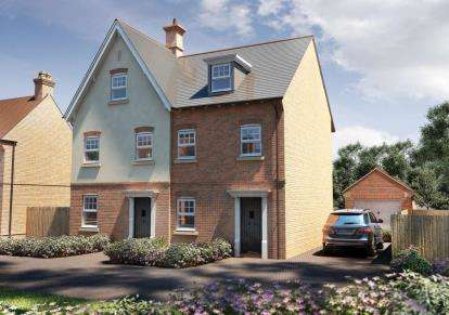 3 Bedrooms Semi Detached House for sale in Worgret Road, Wareham, Dorset