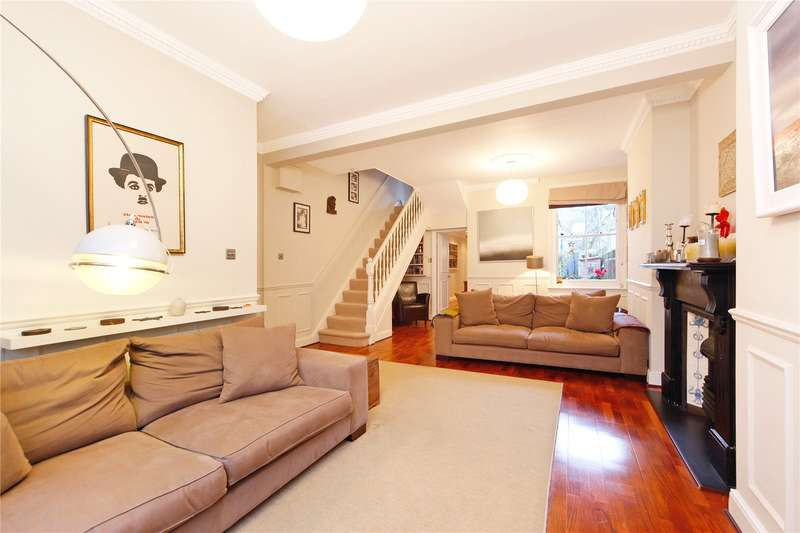 4 Bedrooms Terraced House for sale in Charteris Road, London, NW6
