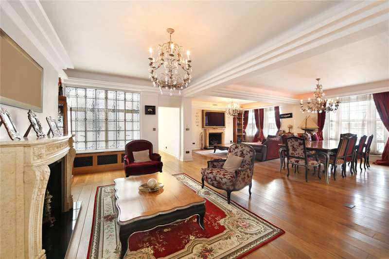 4 Bedrooms Flat for sale in Berkeley Court, Marylebone Road, NW1