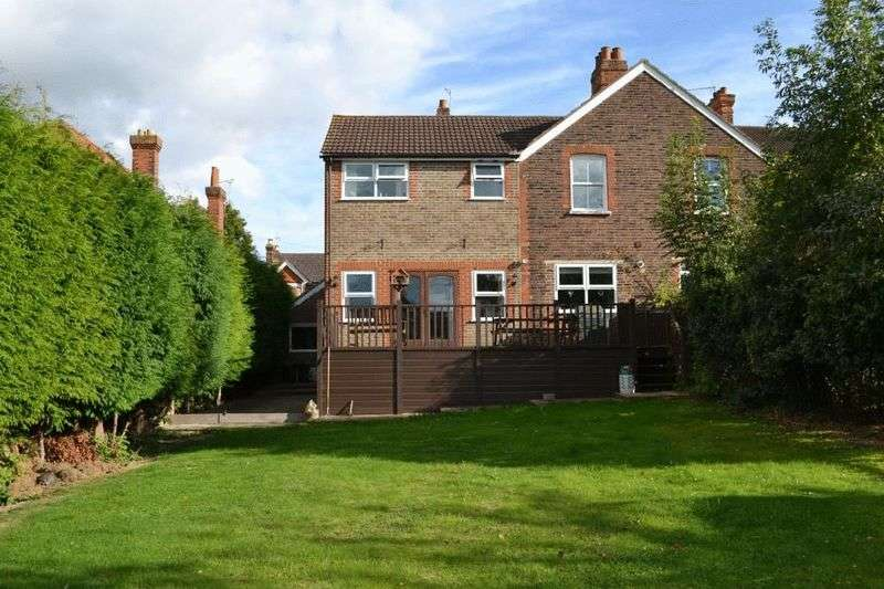 4 Bedrooms Semi Detached House for sale in Woodfield Road, Tonbridge