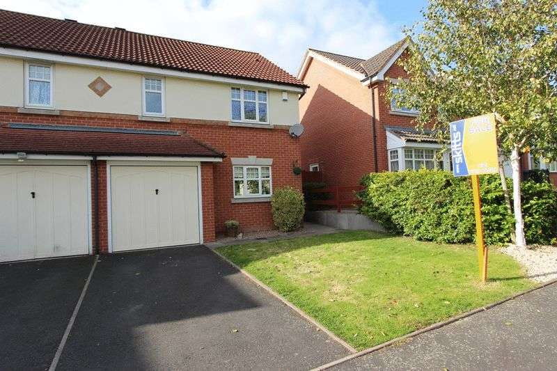 3 Bedrooms Semi Detached House for sale in Oxford Way, Tipton