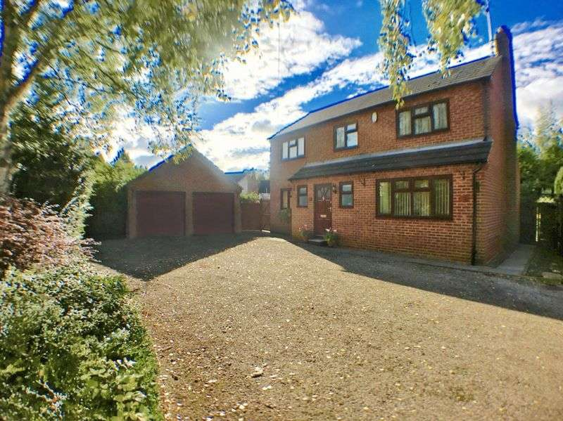 4 Bedrooms Detached House for sale in Derby Road, Swadlincote