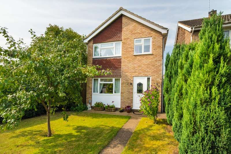 3 Bedrooms Detached House for sale in Woodman Close, Leighton Buzzard, Bedfordshire, LU7