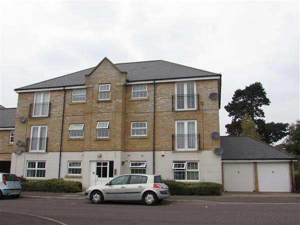 2 Bedrooms Apartment Flat for sale in Salmet Close, Ipswich