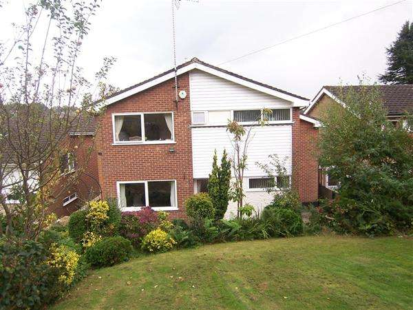 4 Bedrooms Detached House for sale in Lodge Drive, Belper