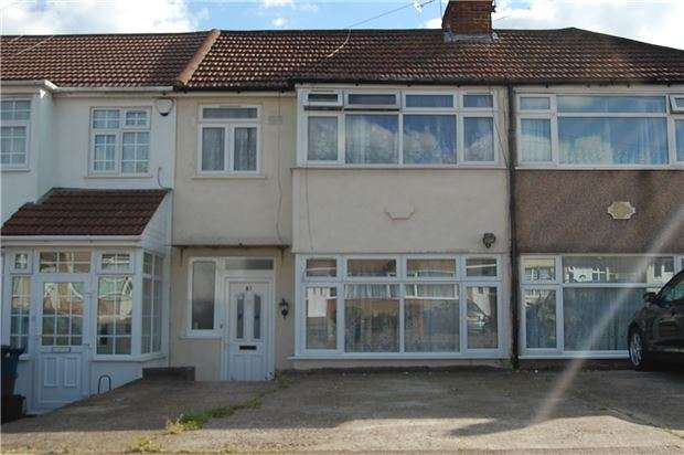 3 Bedrooms Terraced House for sale in Turner Road, EDGWARE, Middlesex, HA8 6AT