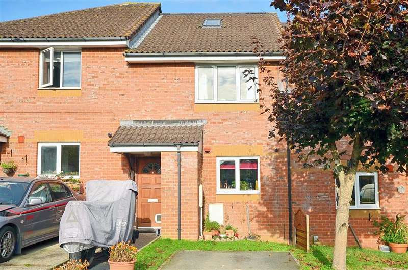 3 Bedrooms Terraced House for sale in Charnwood Close, Newport, Isle of Wight
