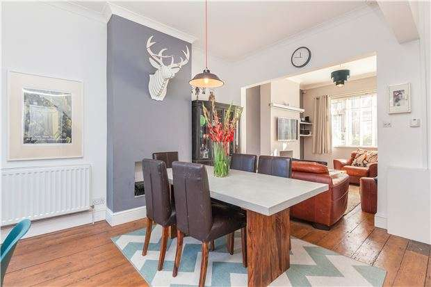 3 Bedrooms Terraced House for sale in Ashgrove Avenue, Ashley Down, Bristol, BS7 9LJ