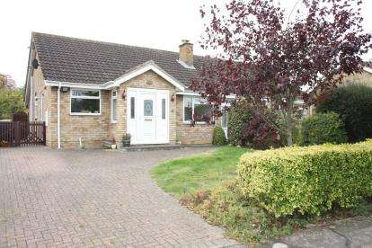 2 Bedrooms Bungalow for sale in Lorraine Road, Wootton, Bedford, Bedfordshire