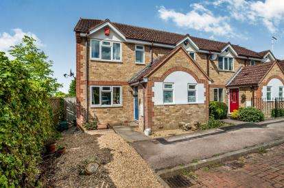 3 Bedrooms End Of Terrace House for sale in Slippers Hill, Hemel Hempstead, Hertfordshire