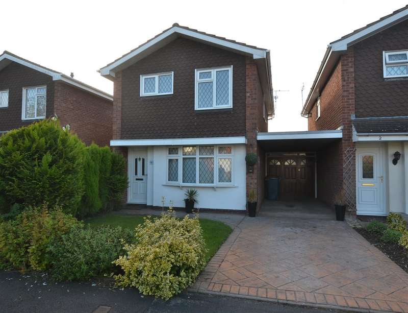 3 Bedrooms Link Detached House for sale in Leahurst Close, Wildwood, Stafford