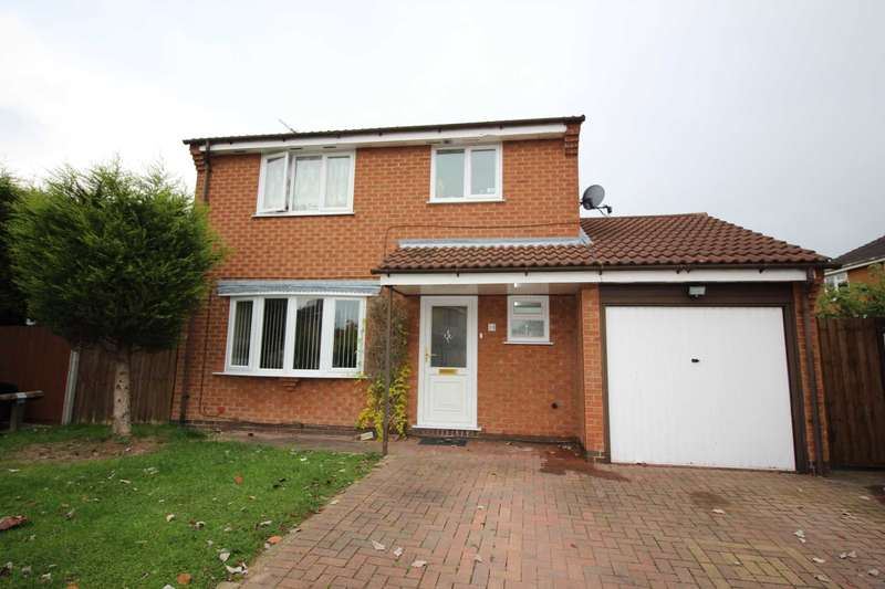 3 Bedrooms Detached House for sale in Bayswater Drive, Leicester