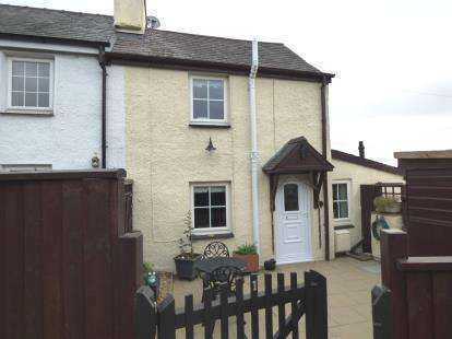 1 Bedroom Semi Detached House for sale in White Horses Cottages, Caernarvon Road, Pwllheli, Gwynedd, LL53