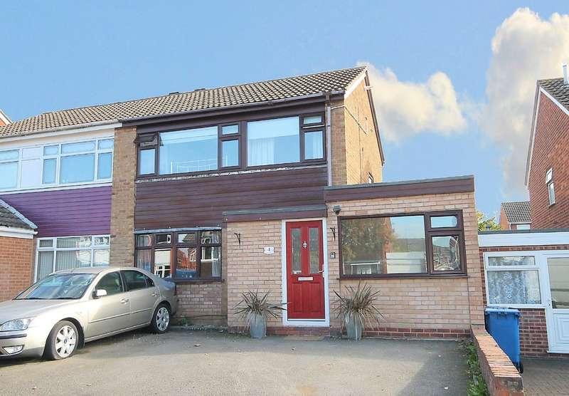 4 Bedrooms Semi Detached House for sale in Jaguar, Lakeside, Tamworth, B77 2RQ