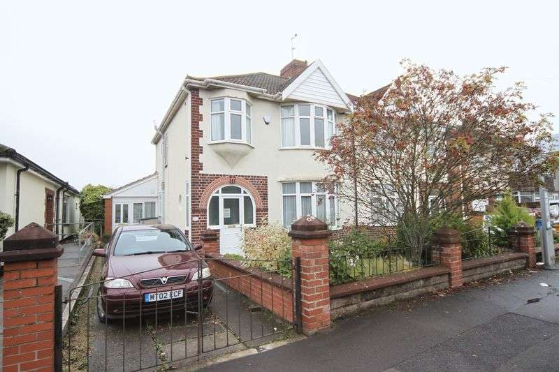 3 Bedrooms Semi Detached House for sale in Memorial Road, Bristol