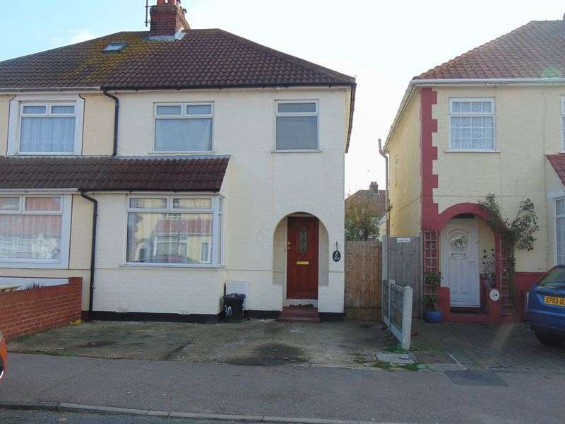 3 Bedrooms Semi Detached House for sale in Thomas Road, Clacton-On-Sea