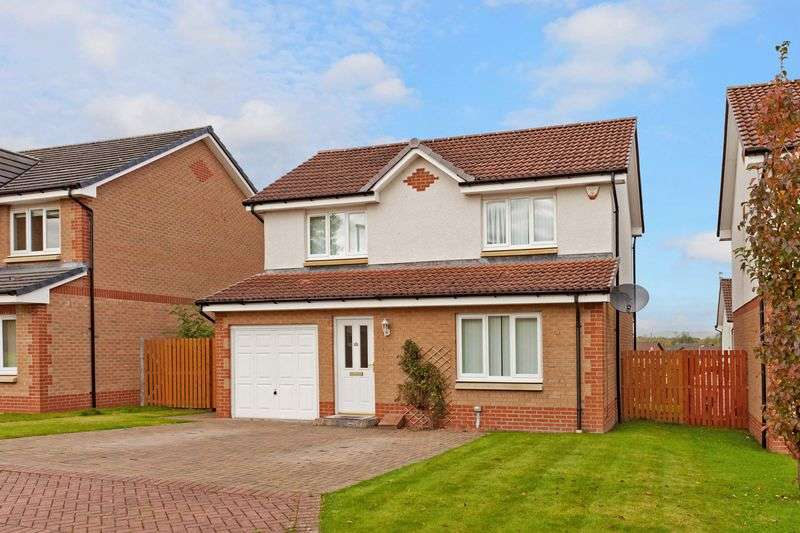 3 Bedrooms Detached House for sale in Craigievar Court, Glasgow G33 5DJ