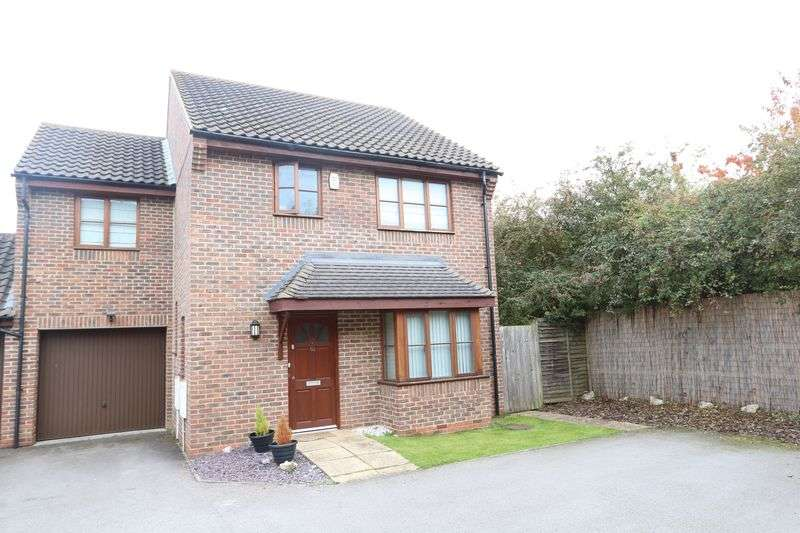 4 Bedrooms Detached House for sale in Perivale, Milton Keynes