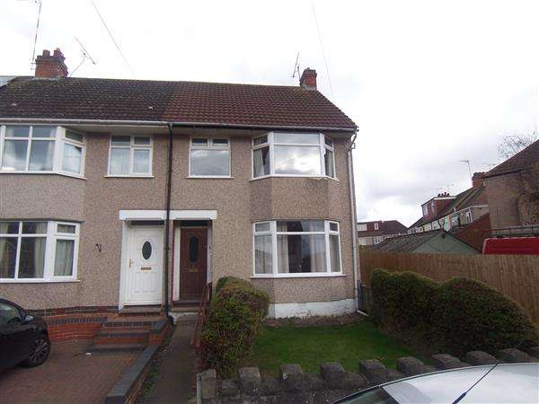 3 Bedrooms End Of Terrace House for sale in Duncroft Avenue, Coundon, Coventry
