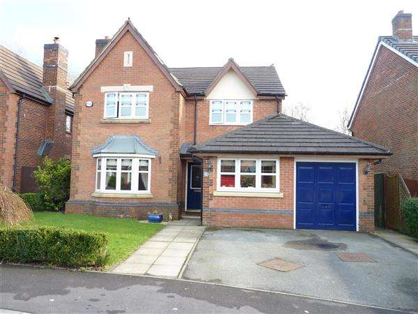 4 Bedrooms Detached House for sale in High Meadow, Walton le Dale, Preston
