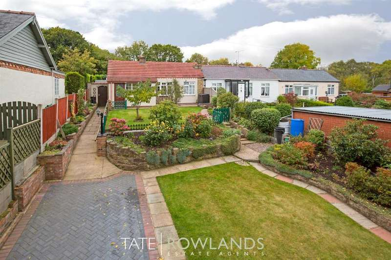 2 Bedrooms Bungalow for sale in Shotton View, Rowan Road, Connahs Quay