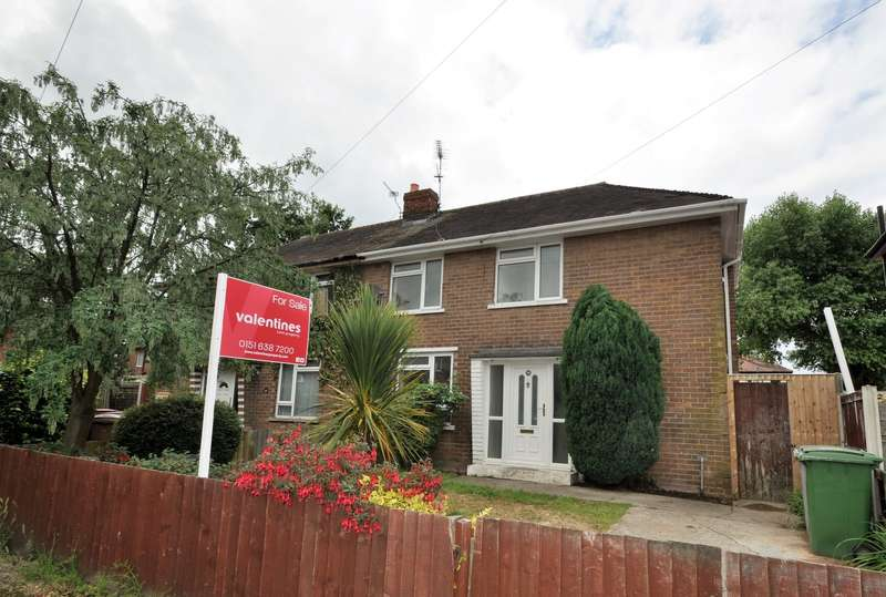 3 Bedrooms House for sale in Jeffreys Drive, Greasby