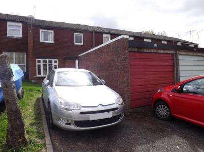3 Bedrooms Terraced House for sale in Edgeworth Close, Redditch, Worcestershire