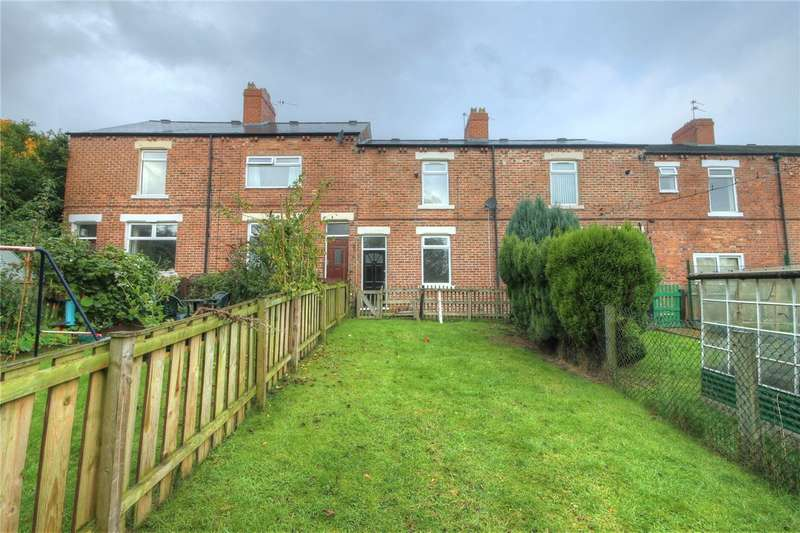 3 Bedrooms Terraced House for sale in Millbank Terrace, Eldon Lane, Bishop Auckland, DL14