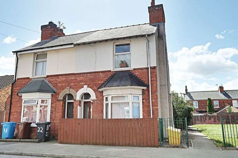 2 Bedrooms Semi Detached House for sale in Steynburg Street, Hull