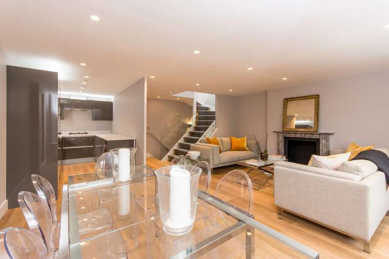 3 Bedrooms Maisonette Flat for sale in Randolph Avenue, Little Venice, W9